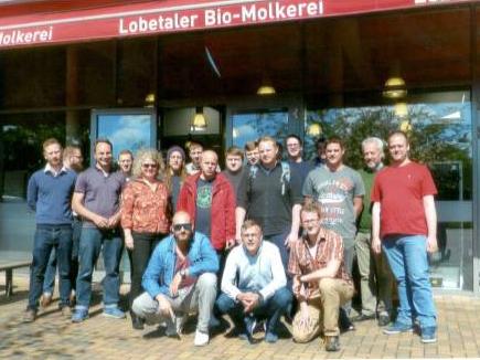 Betriebsbesichtigung 2016 Molkerei Lobetal