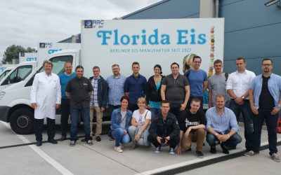 Betriebsbesichtigung 2016 Florida Eis